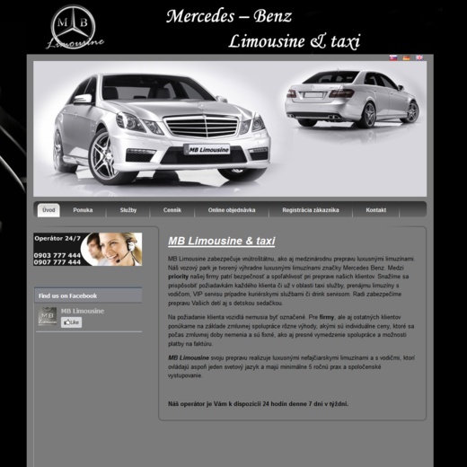 www.mb-limousine.sk