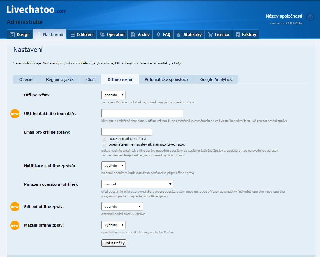 chatování a seznamování webových stránek