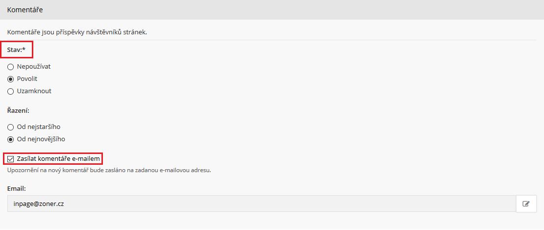 označte webovou stránkukotvení kotce