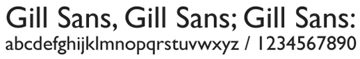 top-fonts-gill-sans-png